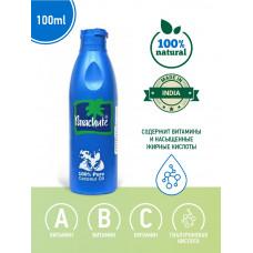 Масло кокосовое 100% Parachute для волос, лица и тела, 100 мл.