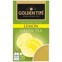 Чай индийский зеленый с лимоном / Lemon Green Envelope Tea, пакетики, 20 шт.