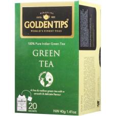 Чай индийский зеленый / Pure Green Envelope Tea, пакетики, 20 шт.