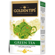Чай индийский зеленый / Green Full Leaf Pyramid цельно листовой, пирамидки, 20 шт.