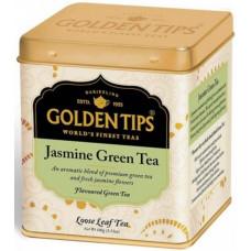 Чай индийский зеленый с жасмином / Jasmine Green Tea Tin Can цельно листовой, в банке, 100 гр