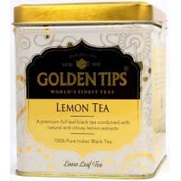 Чай индийский черный с лимоном / Lemon Flavoured Loose Leaf Black Tea Tin Can цельно листовой, в банке, 100 гр