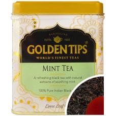 Чай индийский черный с мятой / Mint Flavoured Loose Leaf Black Tea Tin Can цельно листовой, в банке, 100 гр
