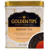 Чай индийский черный с манго / Mango Flavoured Loose Leaf Black Tea Tin Can цельно листовой, в банке, 100 гр