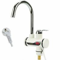 Электрический кран-водонагреватель с дисплеем
