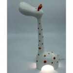 Детский настольный светодиодный светильник Жираф