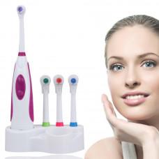 Электрическая зубная щётка Electric Toothbrush c 3 запасными насадками