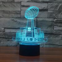 3d светильник Super Bowl
