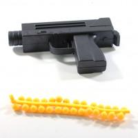 Пневматический пистолет с резиновыми пулями