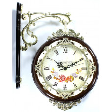 Часы настенные сувенирные Империя 9889 два циферблата