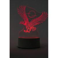 3d светильник Орел