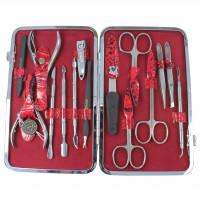 Маникюрный набор профессиональный Zinger 830-S (15 предметов)