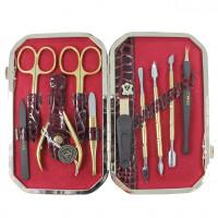 Маникюрный набор профессиональный Zinger 801-SM (10 предметов)