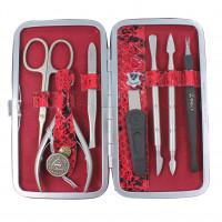 Маникюрный набор профессиональный Zinger MSFE 201-SM (7 предметов)