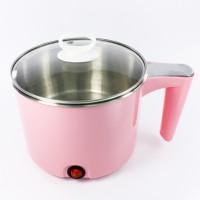 Кастрюля электрическая 1.7 л (розовая)