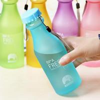 Матовая эко бутылка «BPA Free» 550 мл
