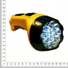Фонарь аккумуляторный 15 кристалллов