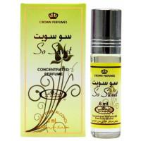 Масляные духи AL REHAB SO SWEET с роллером 6 мл