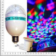 Лампа для вечеринок цветная крутящаяся