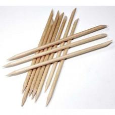 Набор деревянных маникюрных палочек Zinger IG-12 SL-10 (12 см, 10 шт.)