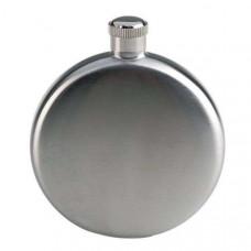 Фляжка из нержавейки круглая 8 oz (240мл)