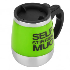Кружка Self Mixing Mag Cup бочонок (зеленый)