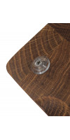 Доска разделочная, торцевая из дуба 25х35 см