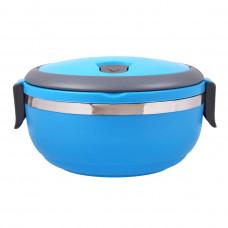 Термо контейнер для обедов Lunch Box А489 (голубой)
