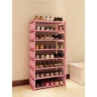 Подставка для обуви, розовая