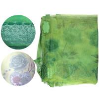 Дверная антимоскитная сетка на магнитах (зеленая)
