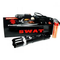 Фонарь ручной аккумуляторный ZOOM SWAT