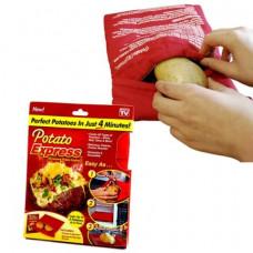 Мешочек для запекания картофеля в микроволновке Potato Express
